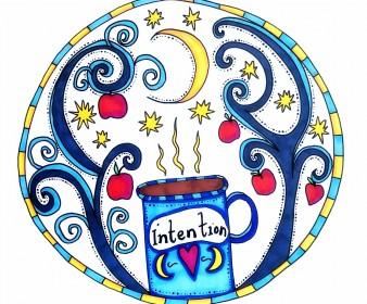 Tea Under The Moon (& Autumn Intention Setting)