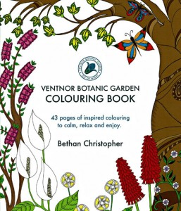 Ventnor Botanic Garden Adult Colouring Book