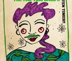 Tint Your Tash Green – 10 Times