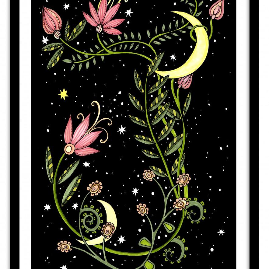 Moonlight Blooms