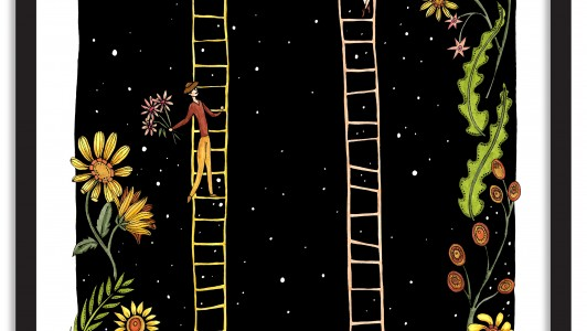 A2 Wall Art Collection / Planetary Circus / Ladders
