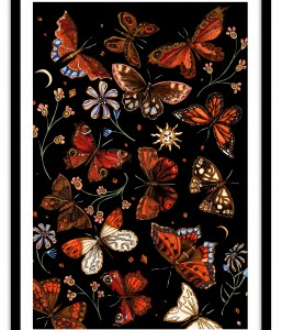 A1 Wall Art Collection / Metanoia / Butterflies
