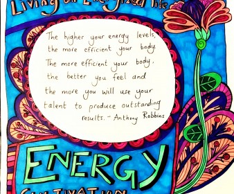 Infuse Yourself With Energy
