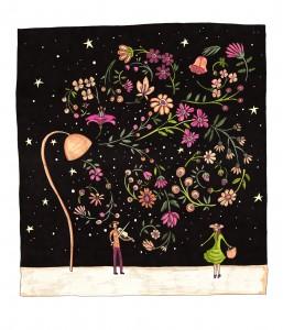 A3 Serenade Art Print