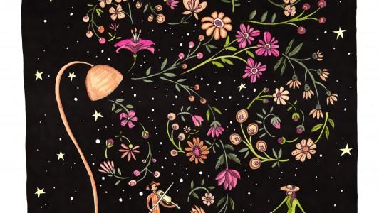 A4 Serenade Art Print