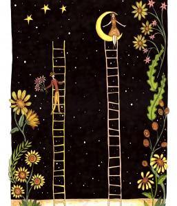 A3 Ladders Print